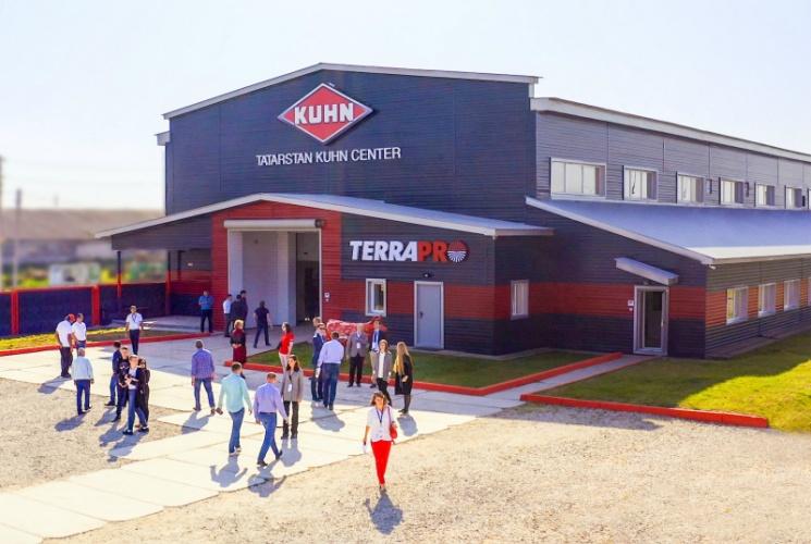 Партнерский материал. Группа KUHN открыла первый в России KUHN Center Tatarstan