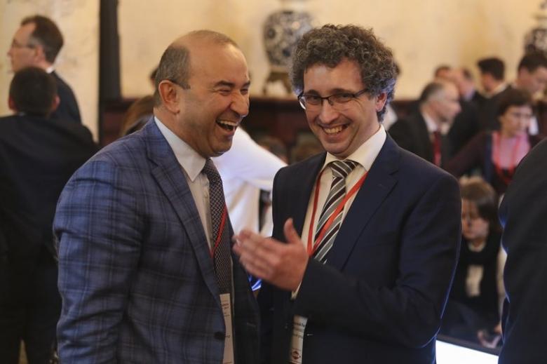 Вадим Ванеев, основатель, группа компаний «Евродон» и Николай Лычев, редакционный директор, проект «Агроинвестор»