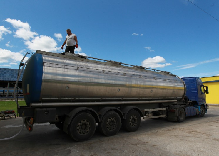 C6июня ввоз молока изБелоруссии будет запрещен
