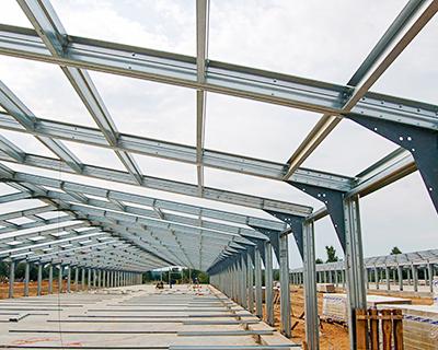 Какие объекты были построены для АПК с 2008 по 2014 год