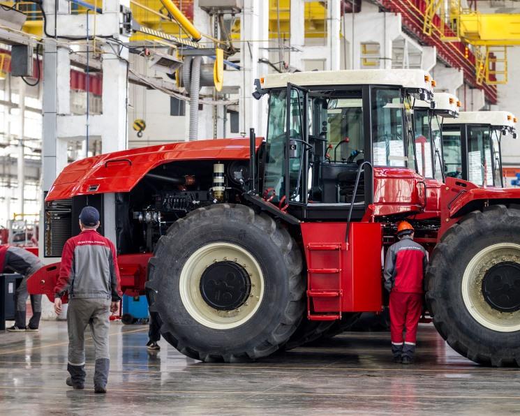 Продажи российской сельхозтехники в 2018 году выросли на 3%
