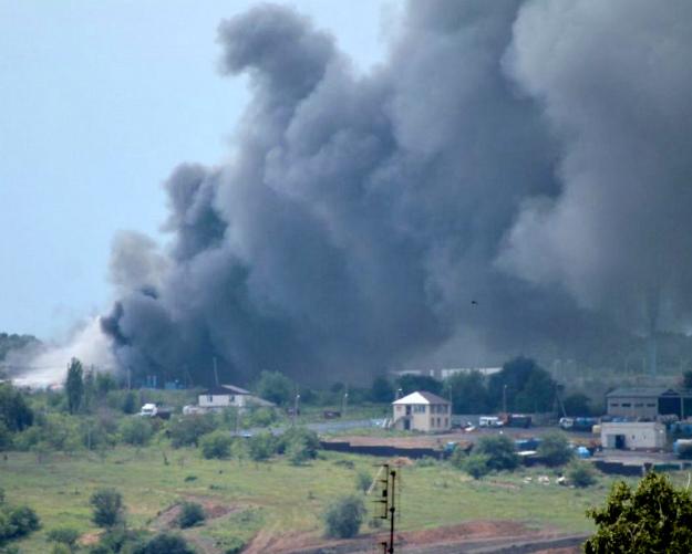У «Евродона» сгорел птичник