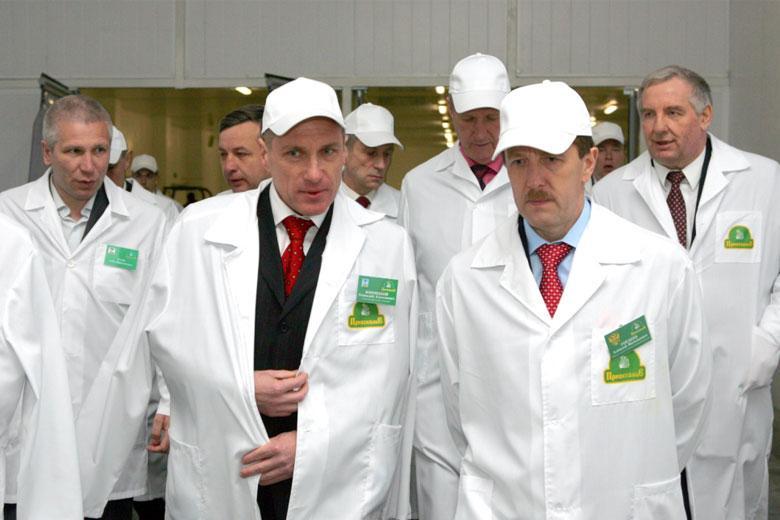 VIPы на селе: Путин и другие. Хроника разных лет