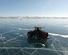 Mitas исследует замёрзшее озеро Байкал