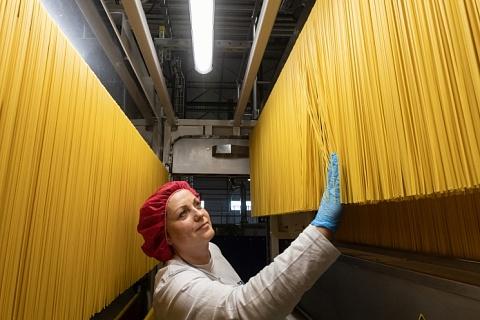 Barilla вложит более 130млневро в производство муки и пасты в Подмосковье