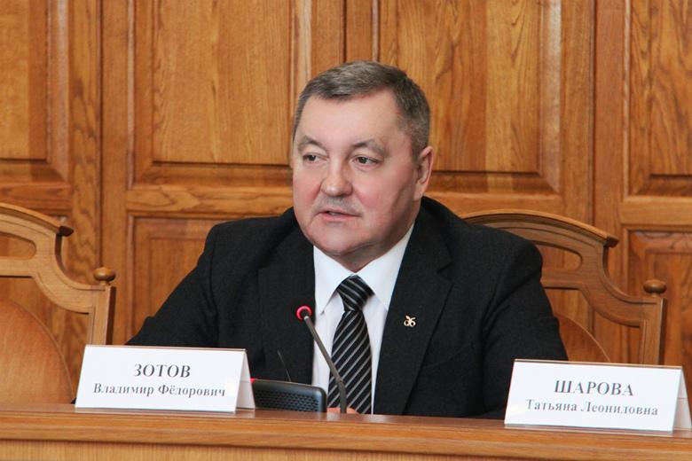 Владимир Зотов поднялся на 31 строку