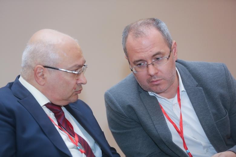 Армен Налбандян, Генеральный директор, «Лилиани» и Александр Хаус, Директор департамента международных проектов, Ассоциация производителей сельхозтехники Германии— VDMA