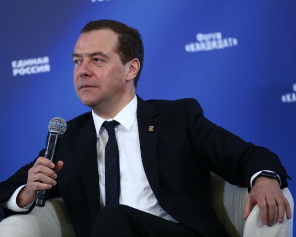 Медведев рассчитывает науспех зарубежом товаров «Сделано вРоссии»