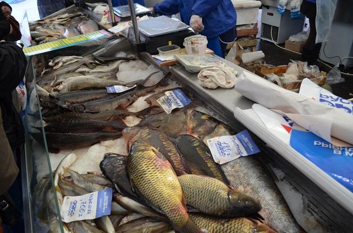 300 тонн рыбной продукции продано за неделю