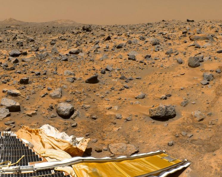 На Марсе можно вырастить томаты