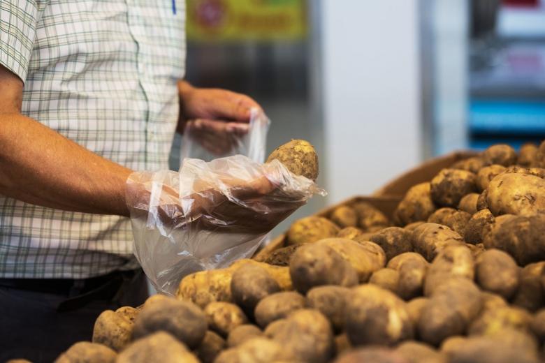Лишние 23кг картофеля в потреблении
