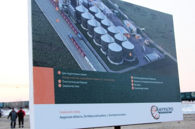 ВАмурской области построят семенной завод