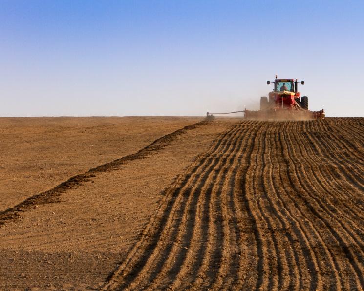 Воборот введено более 1,6 млн гектаров пашни