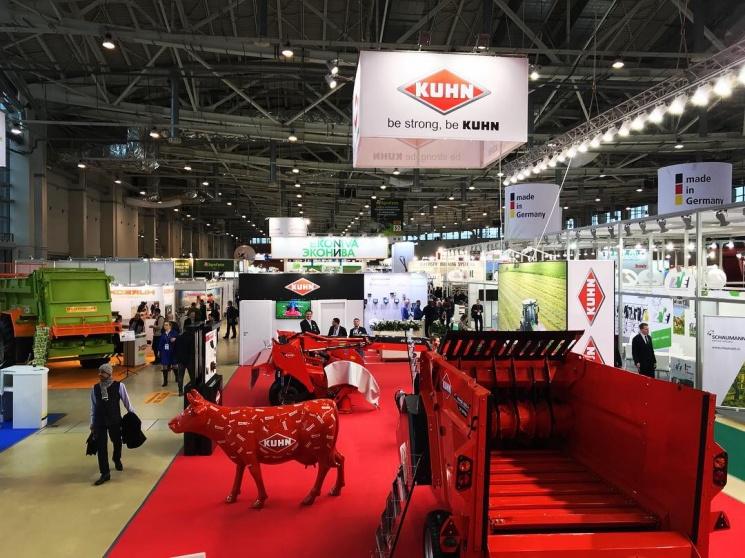 Партнерский материал. KUHN представила на выставке Agrofarm 2019 инновационные решения для повышения эффективности животноводства России