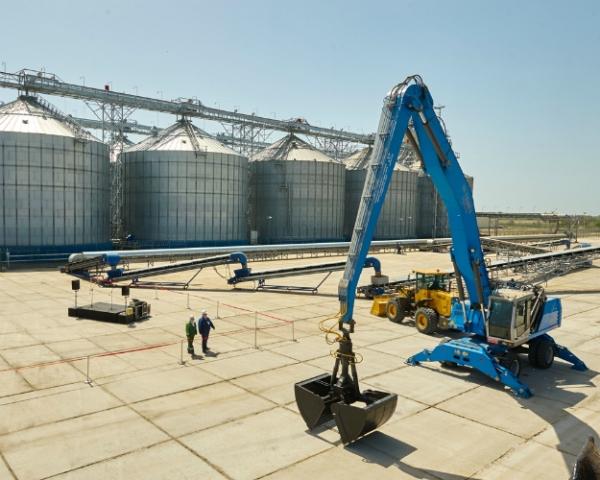 «Луис Дрейфус» открыла экспортный зерновой терминал вАзове Ростовской области