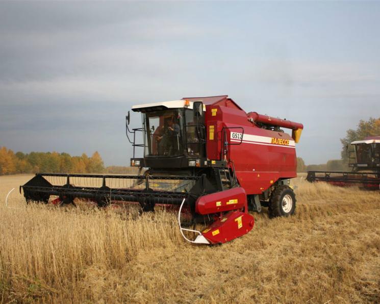 Вянваре-сентябре производство сельхозтехники в РФ  возросло на24%