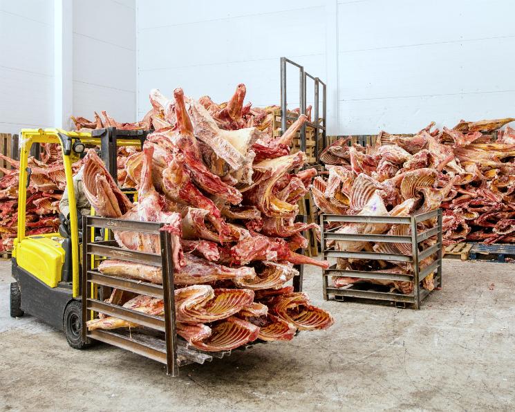 Рынок мяса вточке насыщения