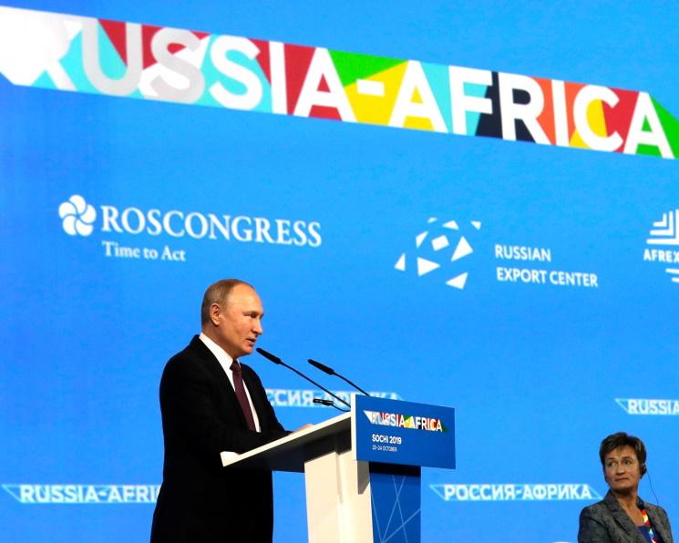 Владимир Путин назвал Африку перспективным направлением экспорта продовольствия