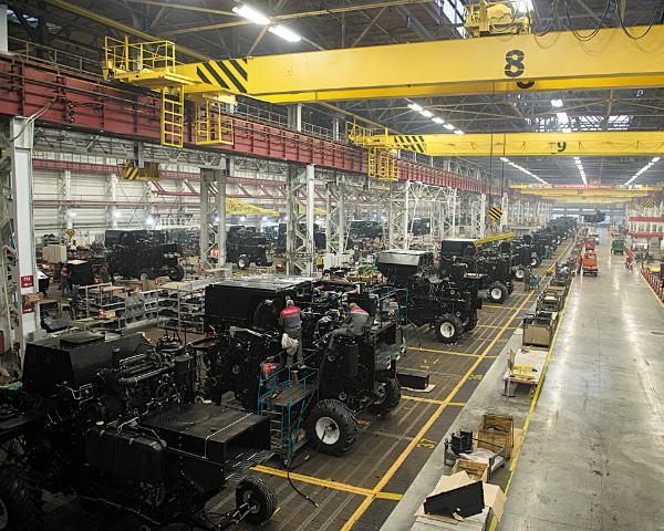 Производство техники выросло на 58%
