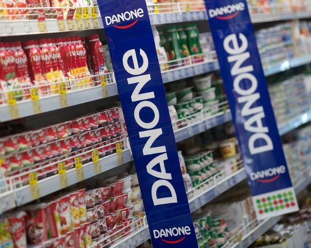 Продажи компании Danone запервые 9 месяцев года уменьшились на2,6%