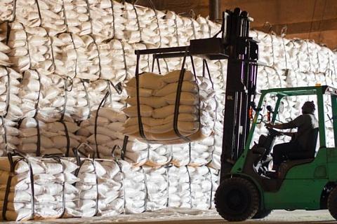 Россия экспортирует рекордный объем сахара