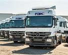 Компания «ПЭК» приобрела крупную партию грузовиков «Мерседес-Бенц»