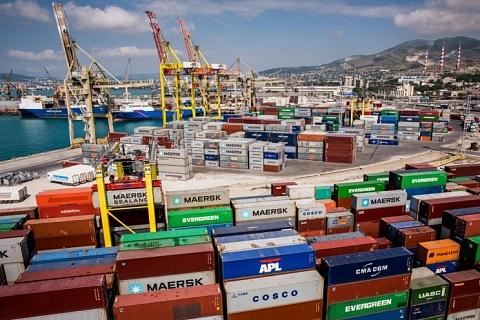 Товарный экспорт сократился впервые с 2015 года