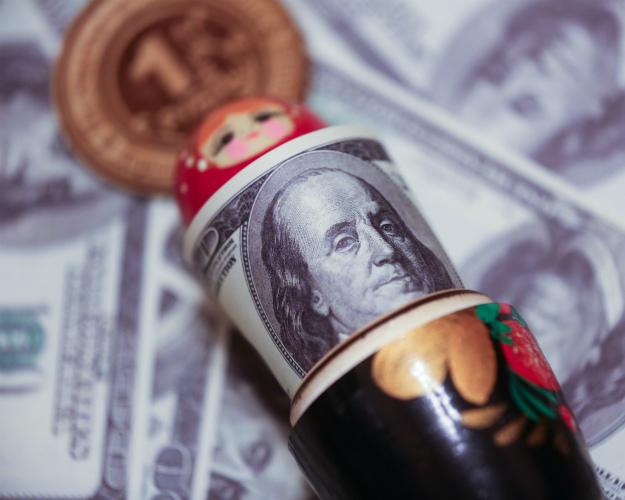 Руб. начал укрепляться поотношению кдоллару иевро