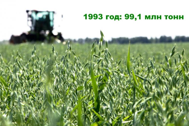 1993 год: 99,1 млн тонн