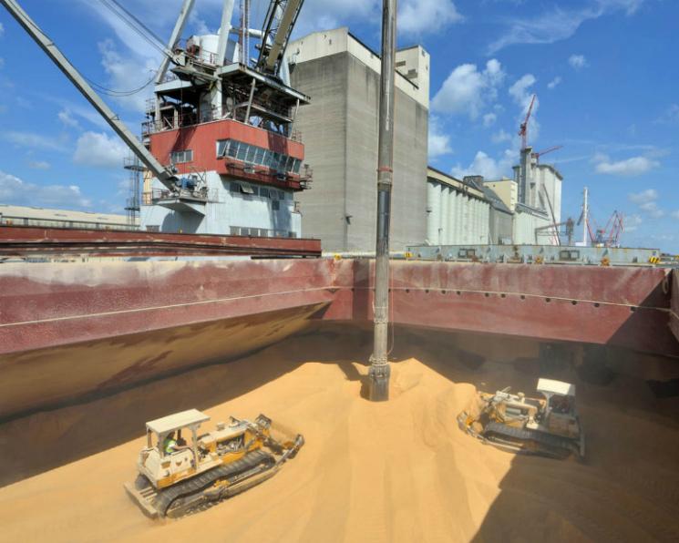 Событие года, Сентябрь 2017: Рекордный экспорт зерновых