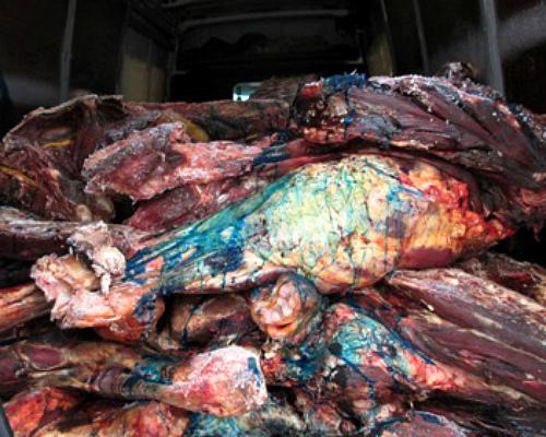 Зеленка стала новым оружием вборьбе сконтрабандным мясом