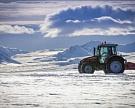 Компания AGCO отправила трактор к Южному Полюсу