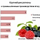 Производство ягод всельхозорганизациях
