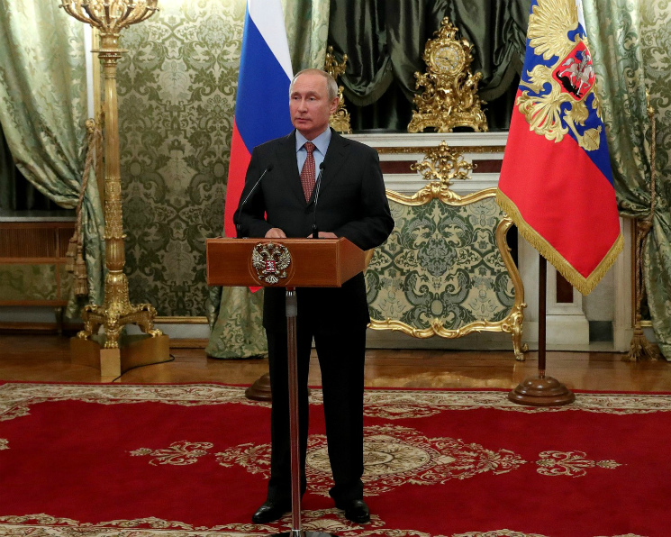 Путин поручил нарастить агроэкспорт до $45 миллиардов