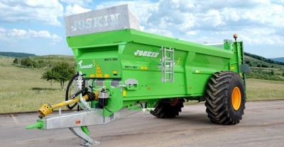 Новая модель разбрасывателей навоза JOSKIN