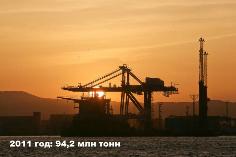 2011 год: 94,2 млн тонн