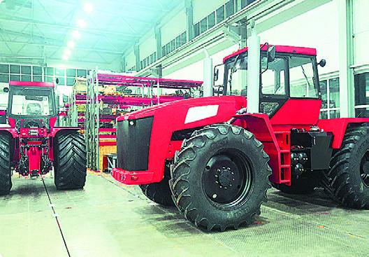 Меньше новой сельхозтехники