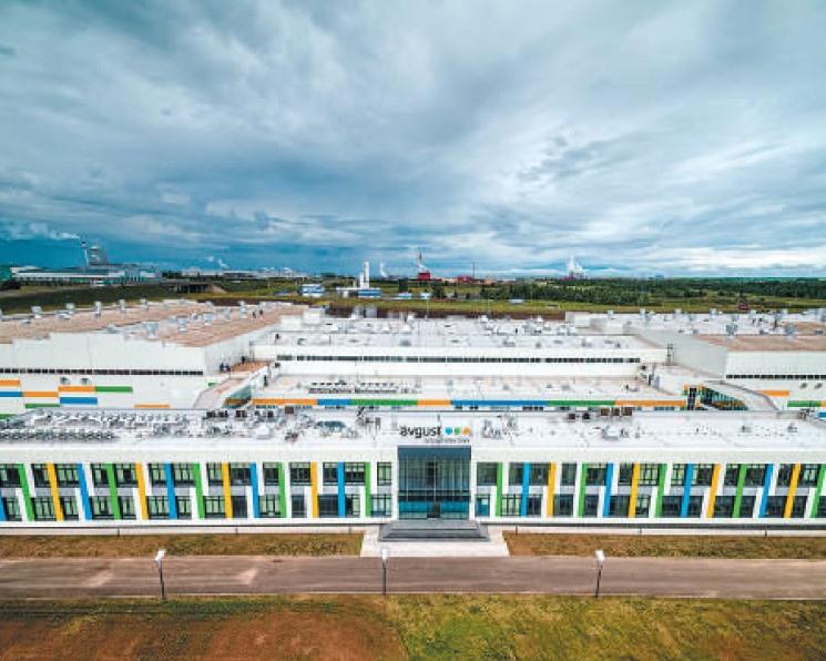 Новость партнера. Новый завод «Август-Алабуга» открылся в Татарстане