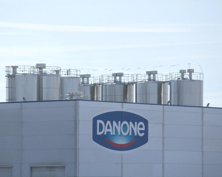 Напредприятии Danone выявлены антибиотики вмолоке
