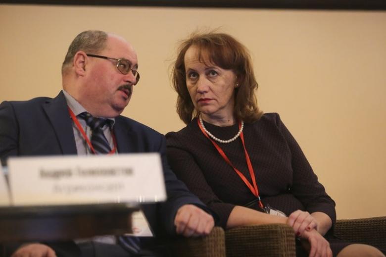 Андрей Голохвастов, генеральный директор, «Агриконсалт» и Тамара Решетникова, генеральный директор, «Технологии роста»