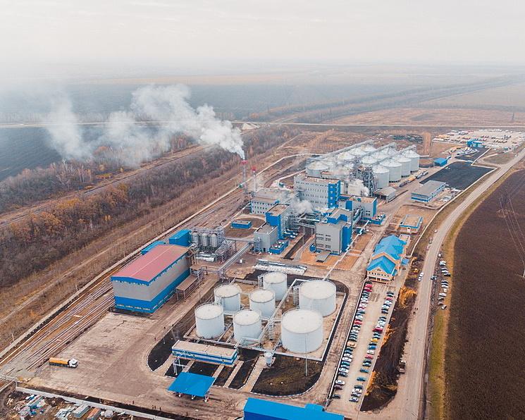 В Липецкой области началось строительство завода глубокой переработки масличных
