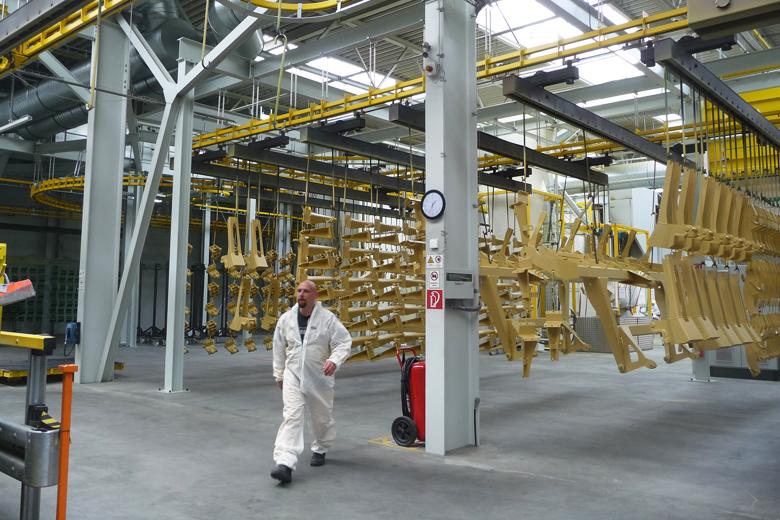Производство техники Amazone в Лейпциге