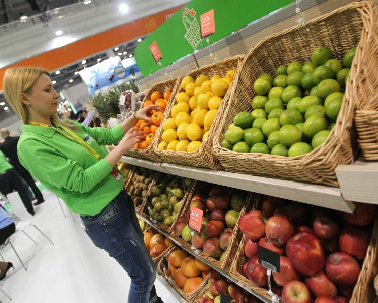 ВРоссии стали есть больше фруктов иовощей