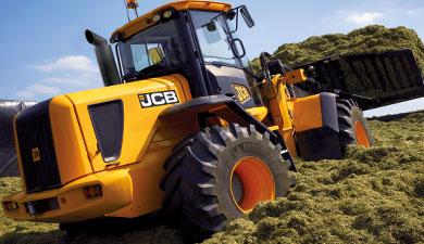 Сельскохозяйственный ковшовый погрузчик JCB 434S