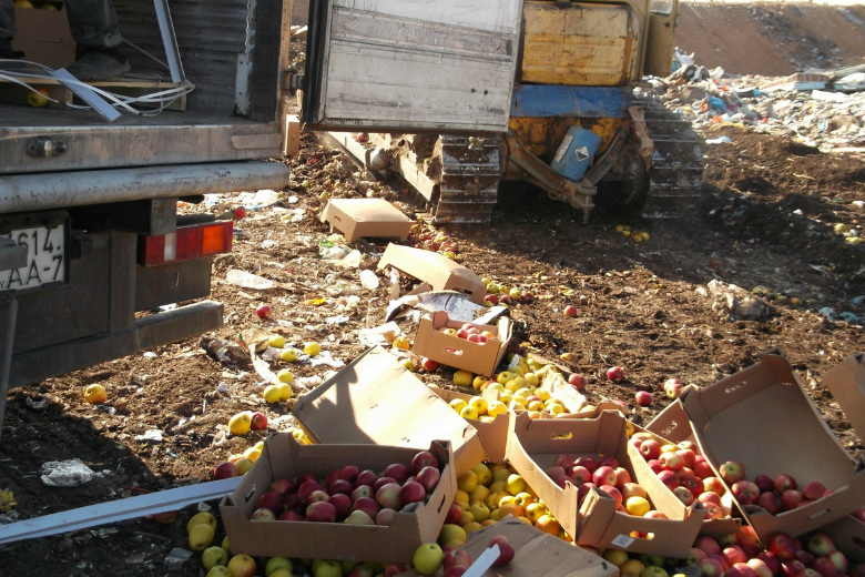 Яблоки под видом запчастей