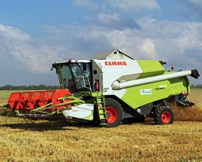 CLAAS увеличивает локализацию зерноуборочных комбайнов в России