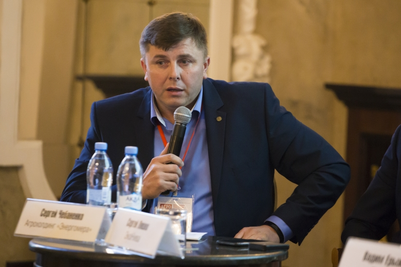 Сергей Чебаненко, генеральный директор, «Агрохолдинг «Энергомера»