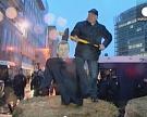 Бельгийские фермеры сожгли Ангелу Меркель
