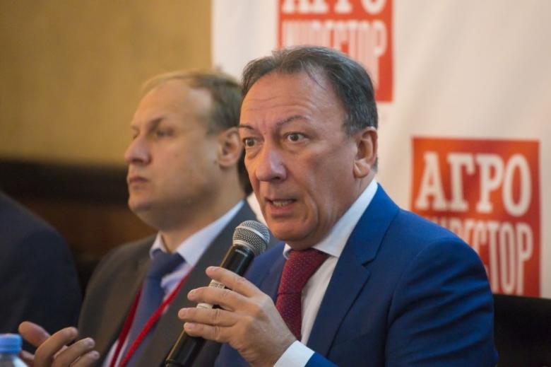 Аркадий Злочевский, Российский зерновой союз, президент