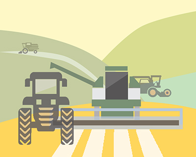 ВРоссии востребованы мощные машины для заготовки кормов
